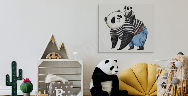 Image charmants pandas