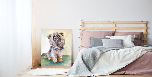 Image de chien pour un salon