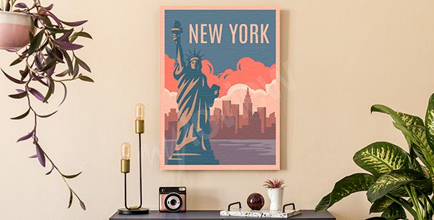 Image colorée New York
