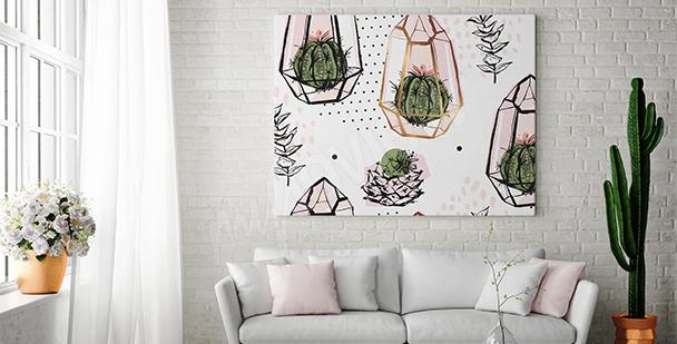 Image composition avec des cactus