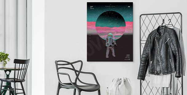 Image cosmos abstrait