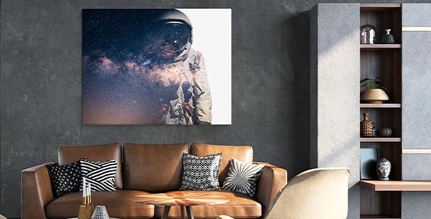 Image cosmos pour salon