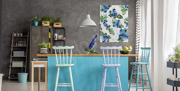 Image fleurs pour cuisine