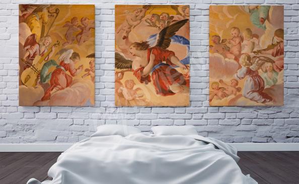 Image d'une fresque baroque