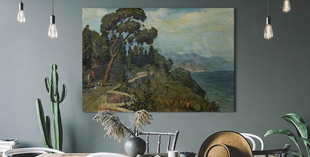 Image paysage avec arbre
