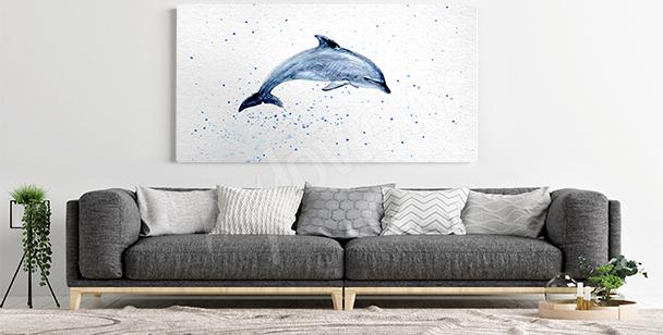 Image dauphin pour salon