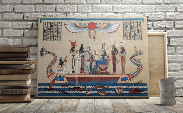 Image de papyrus égyptien