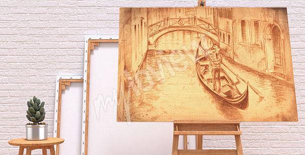 Image dessin de Venise