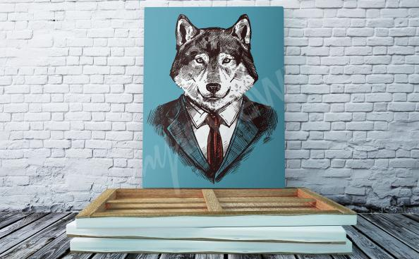 Image du loup illustration