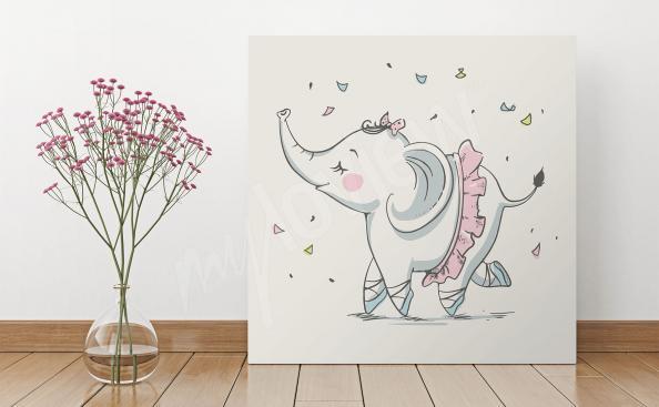 Image éléphant pour enfant
