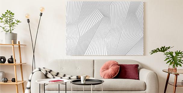 Image en noir et blanc 3D