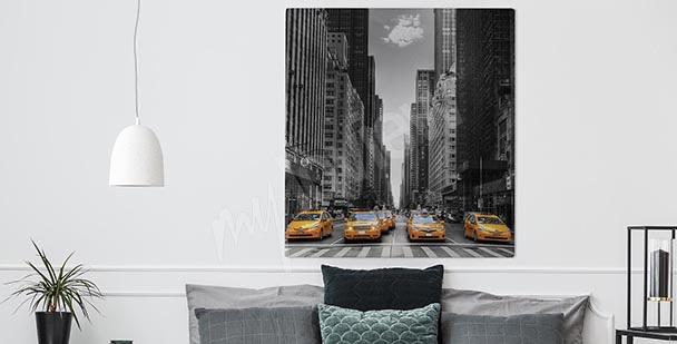 Image en noir et blanc New York