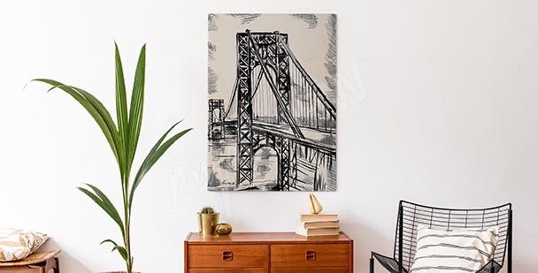 Image esquisse de pont