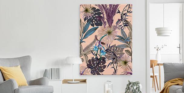 Image exotique style floral