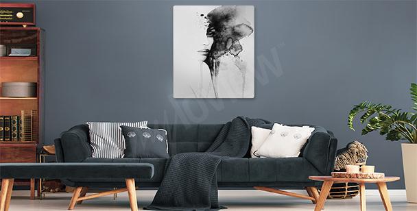 Image femme aquarelle