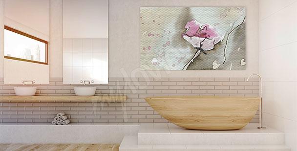 Image fleur abstraite