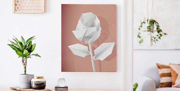 Image fleur en papier