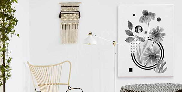 Image fleur minimaliste