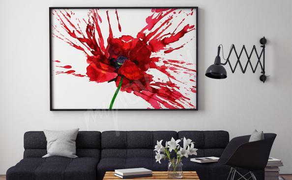 Image fleur pour salon
