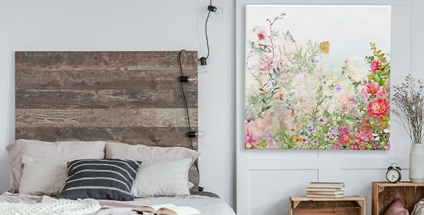 Image fleurs pastels