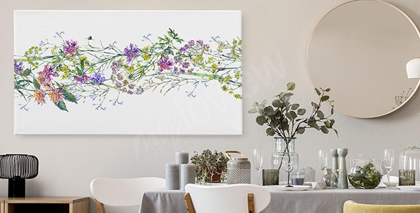 Image fleurs des champs