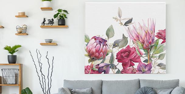 Image fleurs vintage