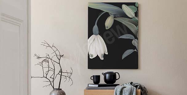 Image florale style classique