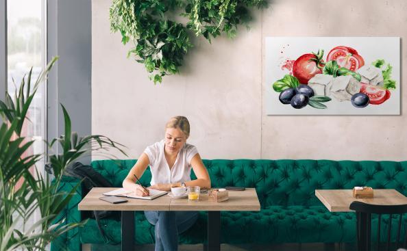 Image fromage et légumes
