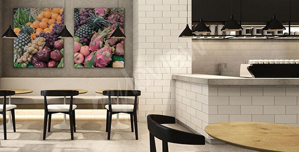 Image fruits pour salle à manger