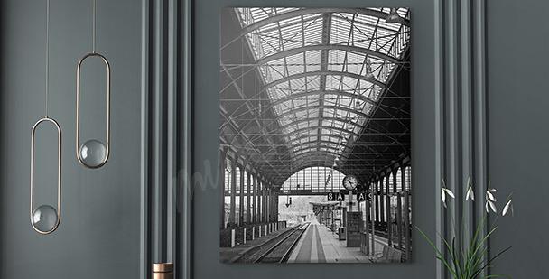 Image gare moderne