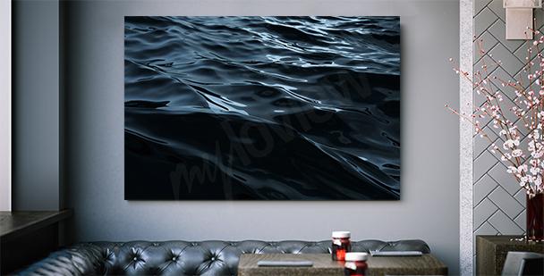 Image graphique avec la mer