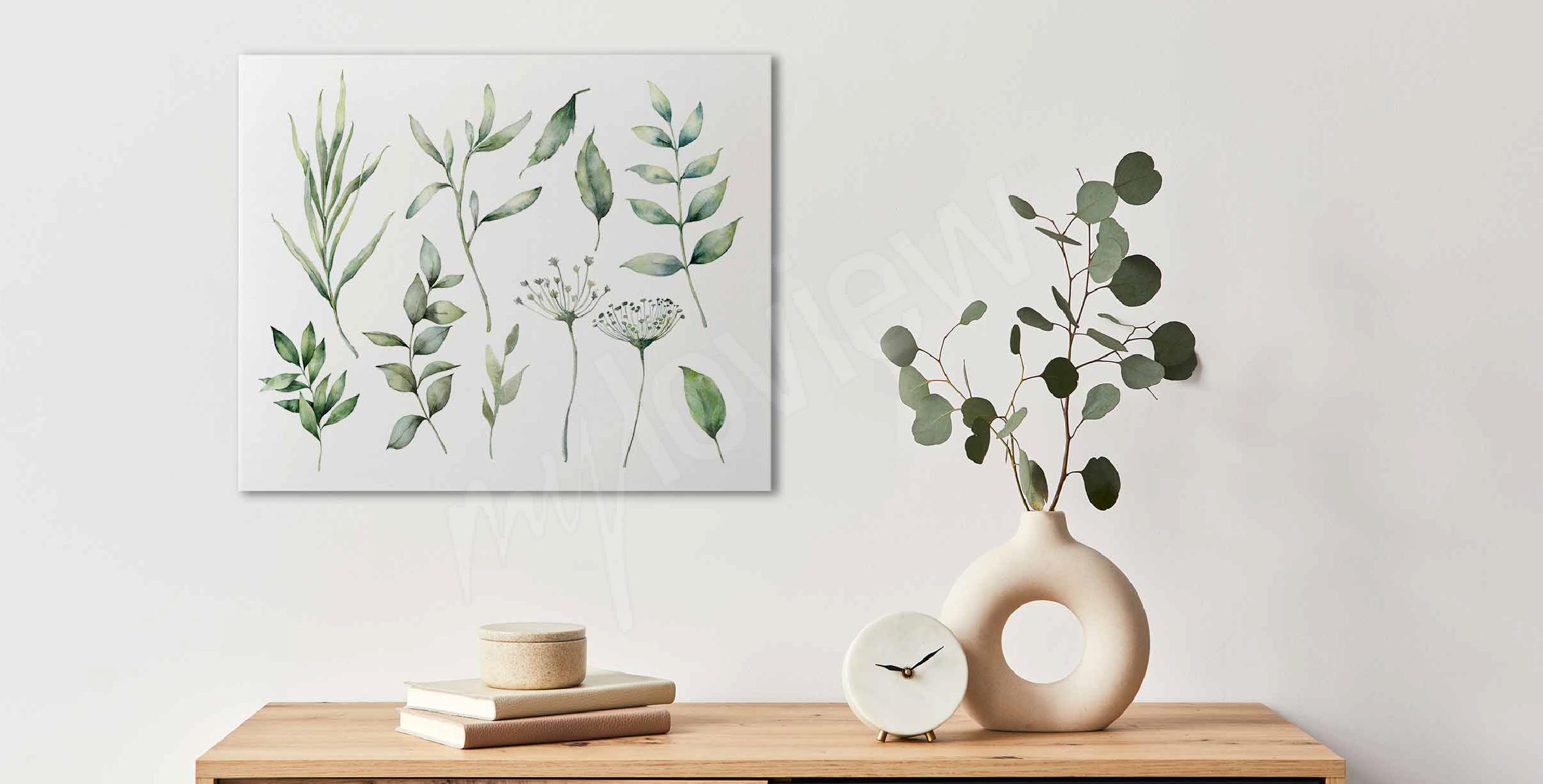Image herbes printanières