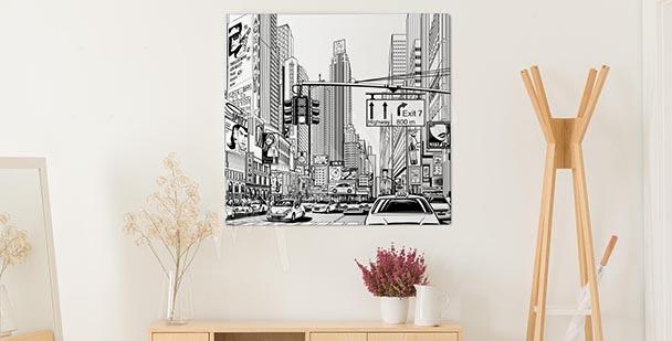 Image couleurs de New York