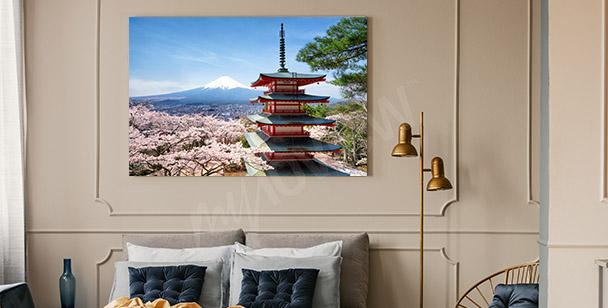 Image le printemps au Jappon