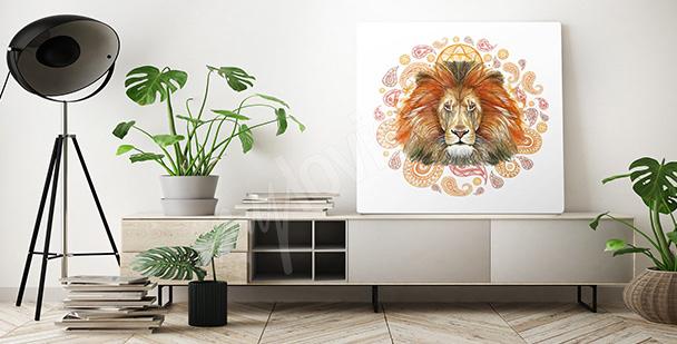 Image lion d'Afrique