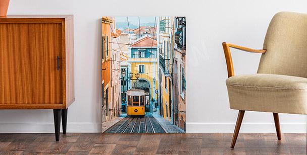 Image Lisbonne  et téléphérique