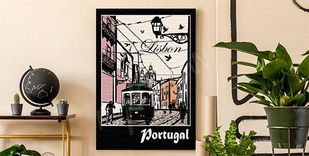 Image Lisbonne et tramway