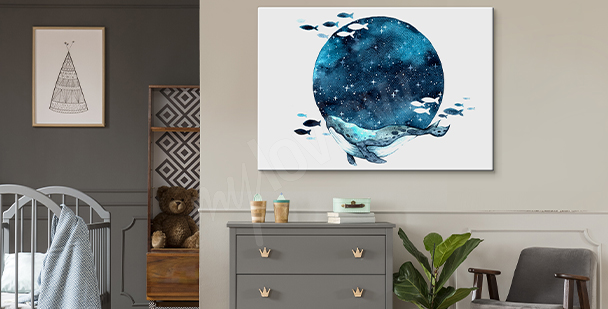 Image lune style galaxy