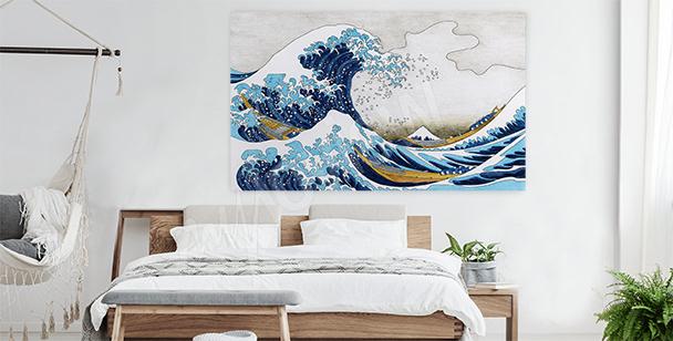 Image mer et tempête