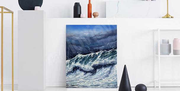 Image mer pour le couloir