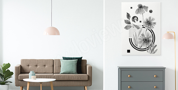 Image minimalisme pour une entrée