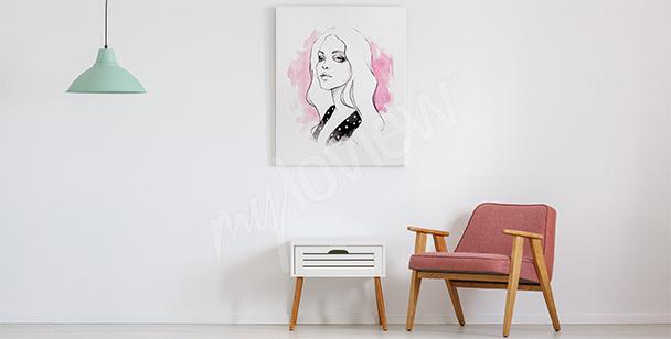 Image minimaliste pour le salon