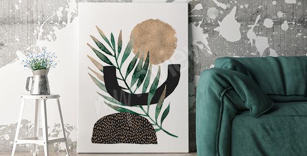 Image minimaliste pour salon