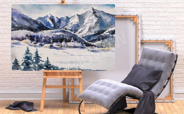 Images montagnes hiver
