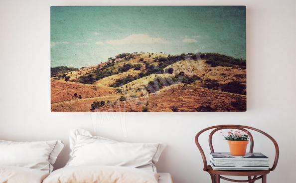 Images montagnes vintage