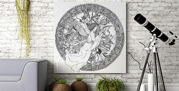 Image motif baroque