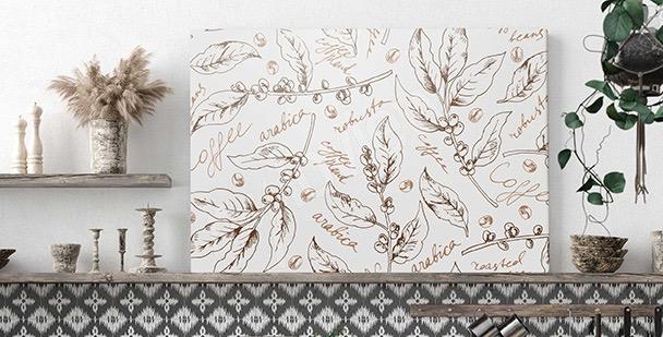 Image motif botanique