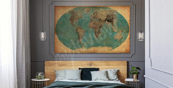 Image motif géographique