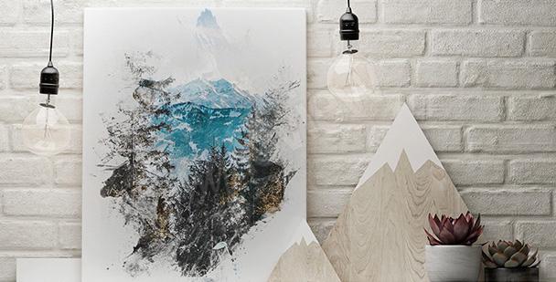 Image nature en hiver
