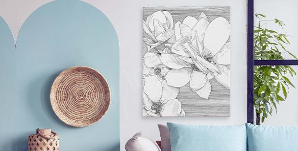Image fleur chambre à coucher